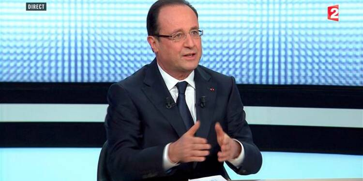 Hollande annonce un choc de simplification pour les entreprises