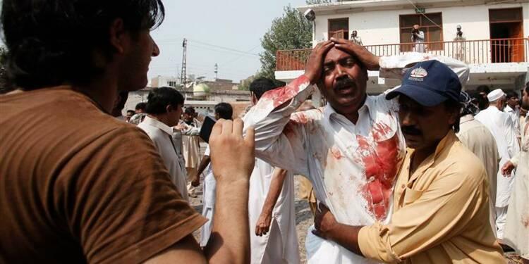 Double attentat contre une église au Pakistan, 56 morts