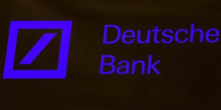 Deutsche Bank veut pouvoir augmenter les bonus de ses banquiers