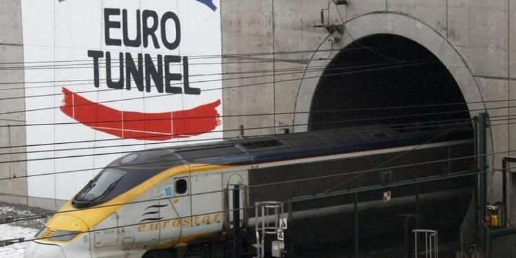 Eurotunnel fait état d'un trafic et de revenus en hausse