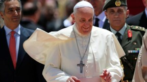 Le pape François en voyage hautement politique au Proche-Orient