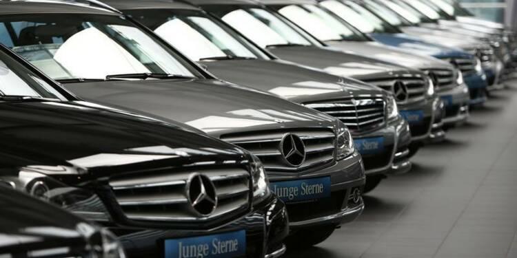Le blocage des immatriculations de Mercedes suspendu
