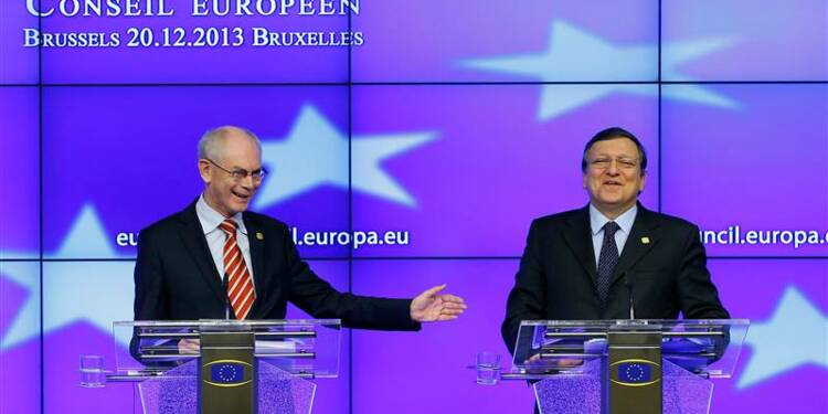 Le débat dans l'UE réformes contre soutien financier en panne