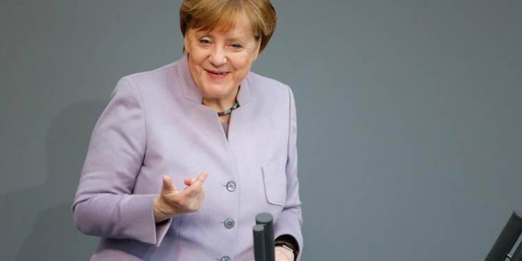 Les priorités de Macron avec Merkel: sécurité, économie, social