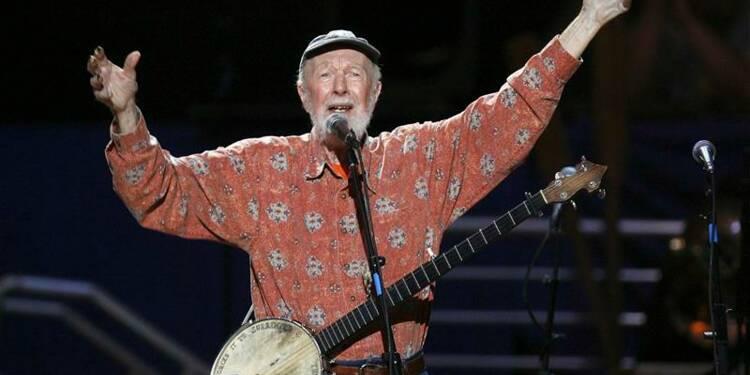 Le chanteur Pete Seeger, pionnier du folk américain, est mort