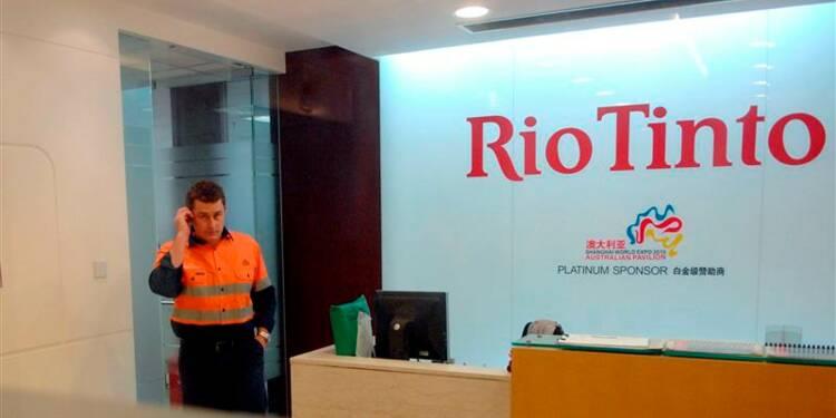 Espoir d'accord rapide sur l'usine Rio Tinto