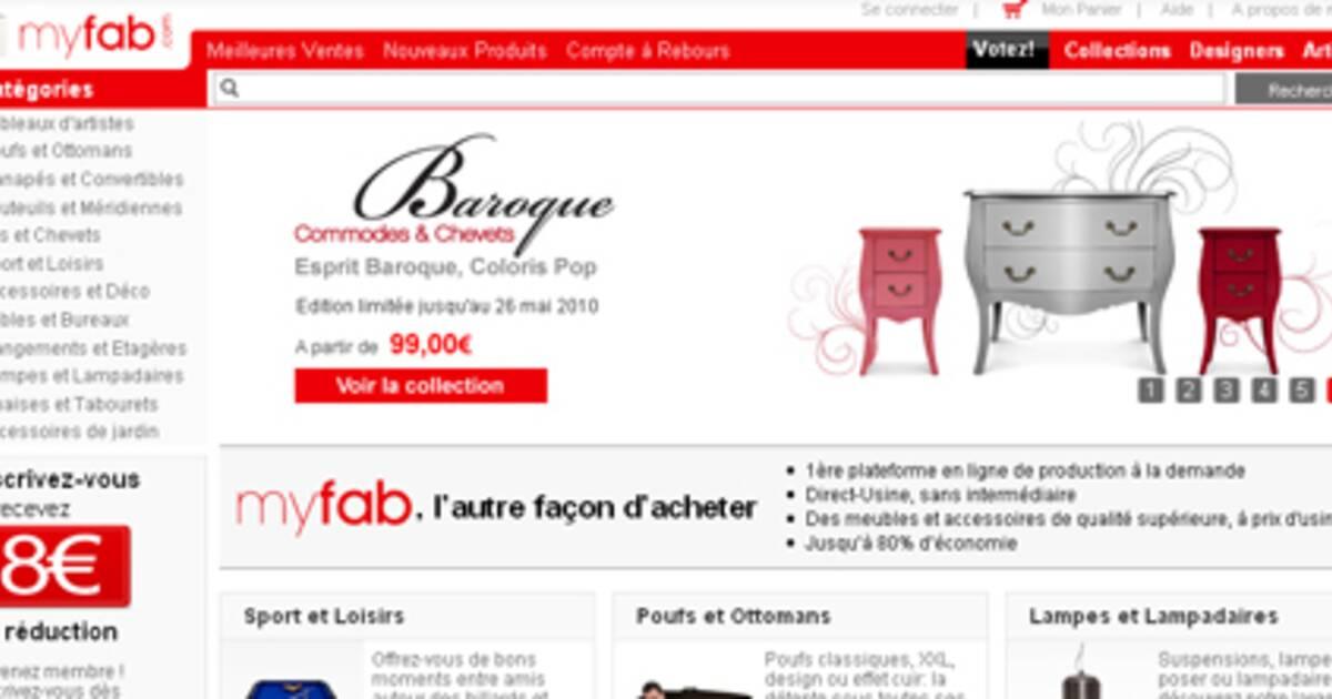myfab vend au d tail prix de gros. Black Bedroom Furniture Sets. Home Design Ideas