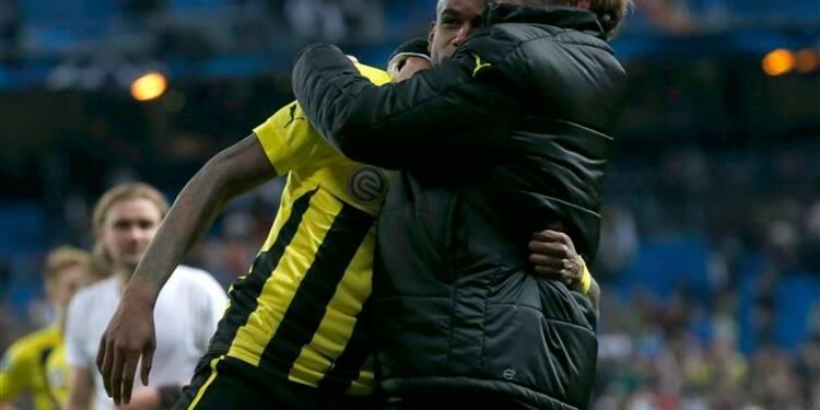 Ligue des champions: Dortmund perd à Madrid, mais va en finale
