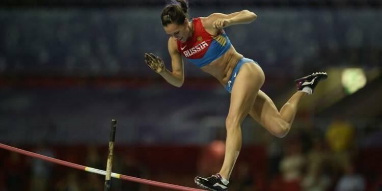 Athlétisme: Yelena Isinbayeva au sommet, Kirani James chute