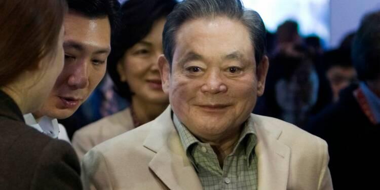 Le président de Samsung Electronics opéré du coeur