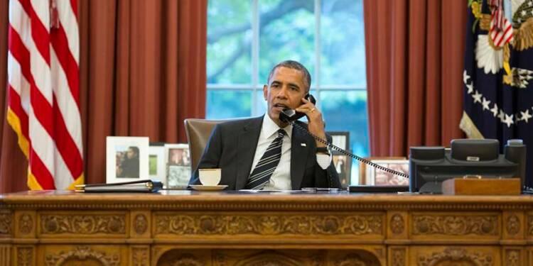 Barack Obama parle au président iranien, une première depuis 1979