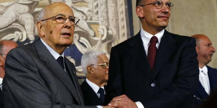 Letta rencontre Berlusconi, objectif: un gouvernement ce week-end