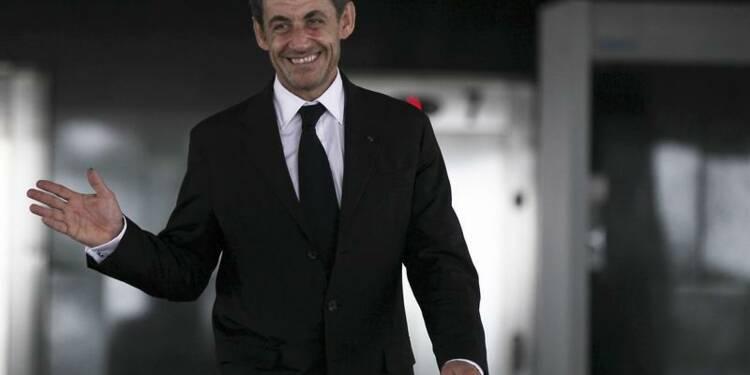 Nicolas Sarkozy reste le préféré à droite, selon BVA