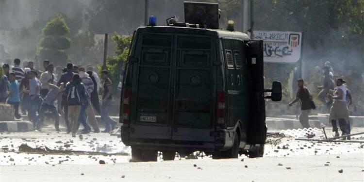 Manifestation d'étudiants pro-Morsi au Caire