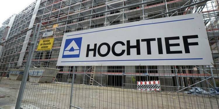 Hochtief pourrait vendre la moitié de ses actifs en Europe