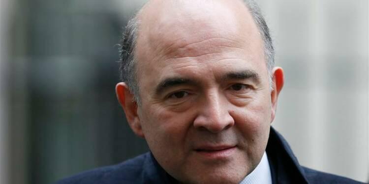 Pierre Moscovici s'engage à tout faire pour réduire le déficit