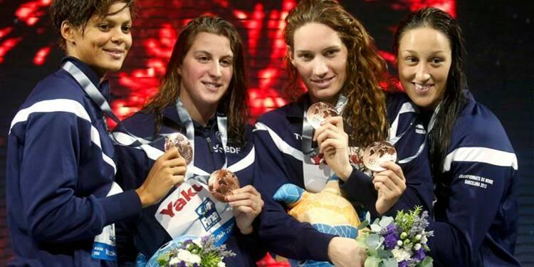Natation: les relayeuses françaises encore en bronze