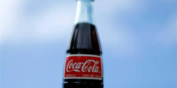 Les ventes trimestrielles de Coca-Cola inférieures aux attentes