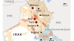 Les djihadistes de l'EIIL progressent vers Bagdad