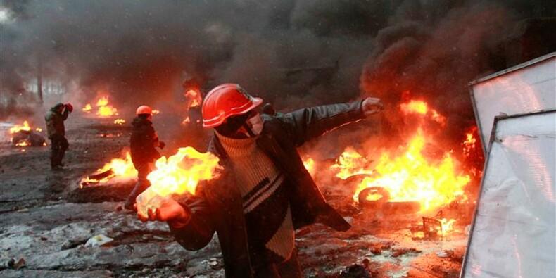De nouveaux affrontements à Kiev auraient fait deux morts
