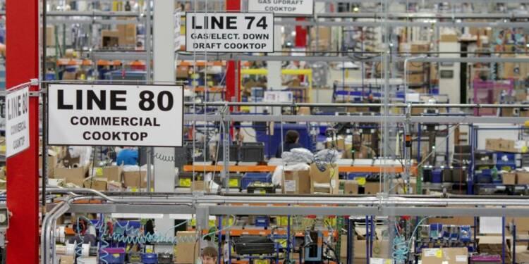 Forte hausse de la production manufacturière américaine en mai
