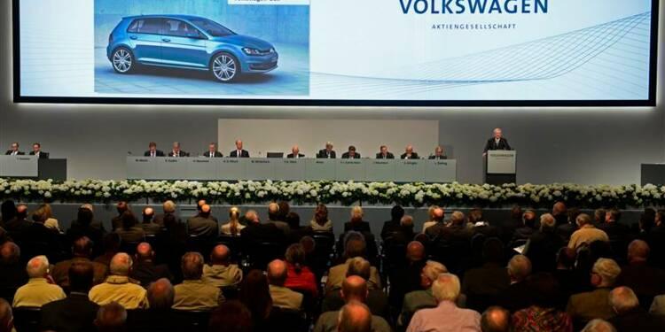 2013 sera difficile, amélioration en vue au 2e semestre, dit Volkswagen