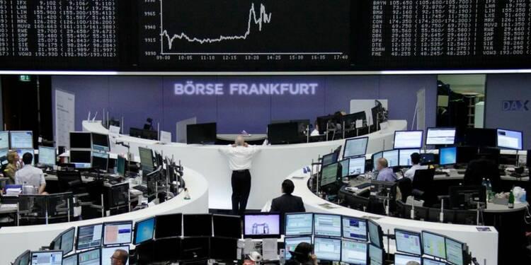 Les Bourses européennes accélèrent leur hausse après la BCE