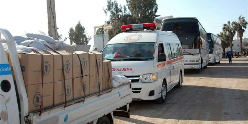 Le projet de résolution sur l'aide à la Syrie examiné à l'Onu