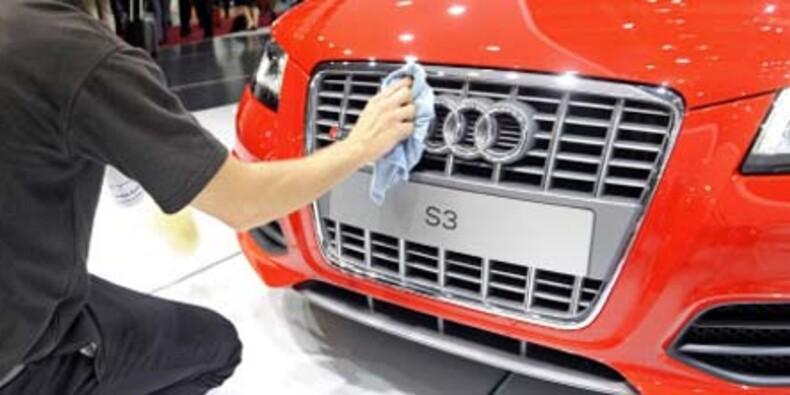 Pied au plancher, Audi veut rattraper BMW
