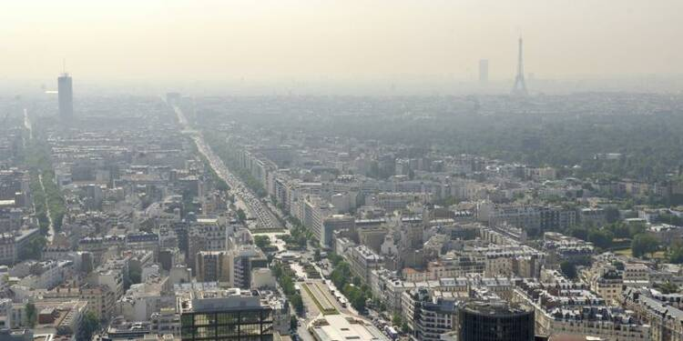 Pic de pollution aux particules fines en Ile-de-France