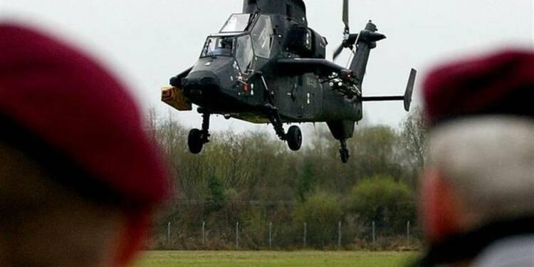 Berlin réduit le volume de sa commande d'hélicoptères à EADS
