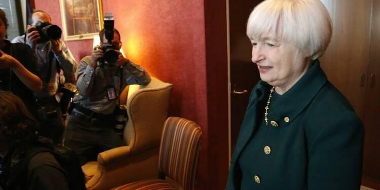 Pour Janet Yellen, la Fed doit encore soutenir la reprise