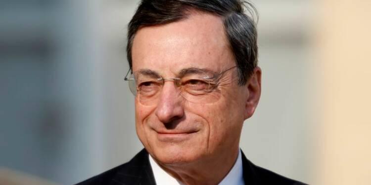 Une hausse de l'euro nécessitera une action de la BCE, dit Draghi