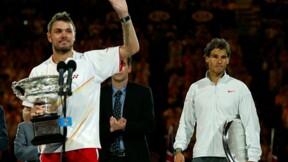 Open d'Australie: Wawrinka remporte le tournoi face à Nadal