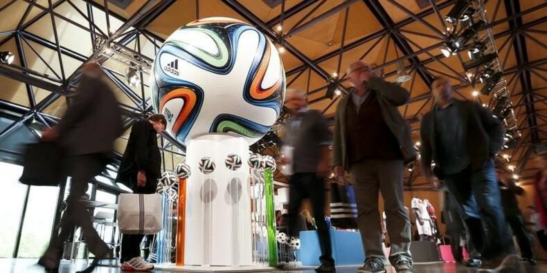 Adidas confirme son objectif de ventes 2014 dans le football