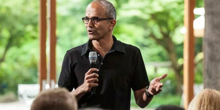 Satya Nadella prochain directeur général de Microsoft