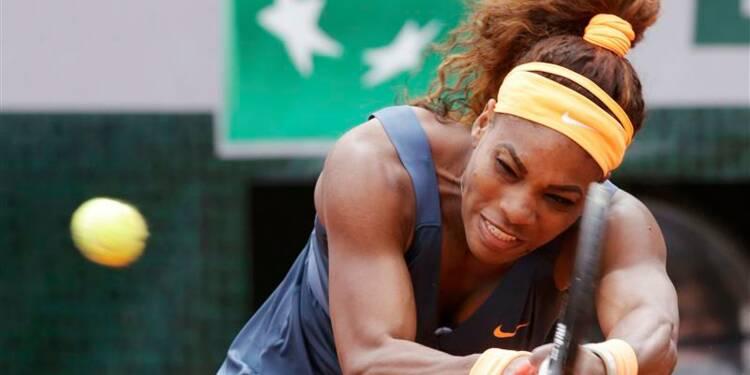 Roland-Garros: Serena reste à peine 51 minutes sur le Central