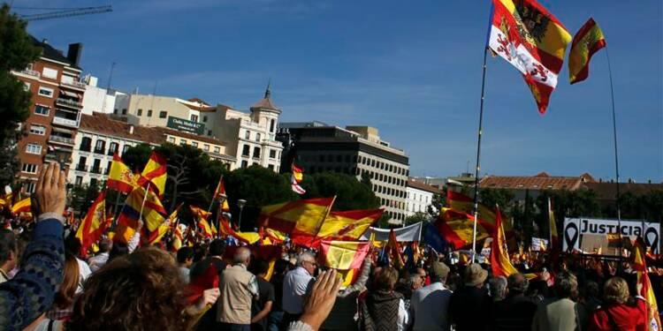 Manifestation anti-ETA à Madrid après un jugement européen