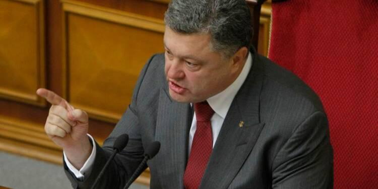Petro Porochenko remanie la défense ukrainienne
