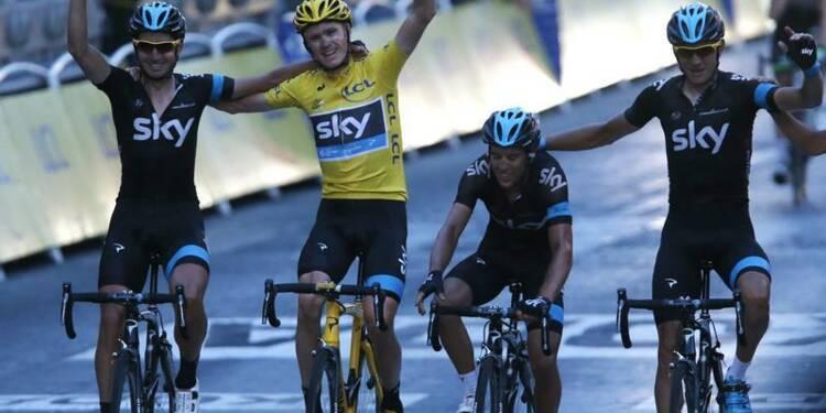 Tour de France: Kittel gagne sur les Champs-Elysées, Froome sacré