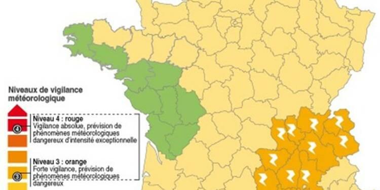 De violents orages en vue dans les Alpes