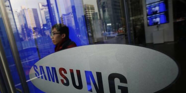 Baisse du bénéfice trimestriel de Samsung