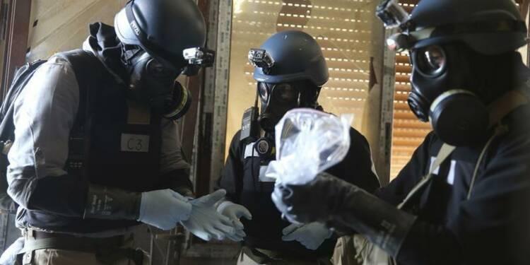 La Syrie a transmis les données sur son arsenal chimique