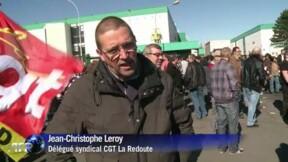 La Redoute: les salariés manifestent