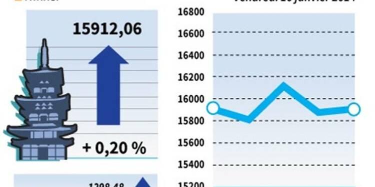 La Bourse de Tokyo finit en petite hausse
