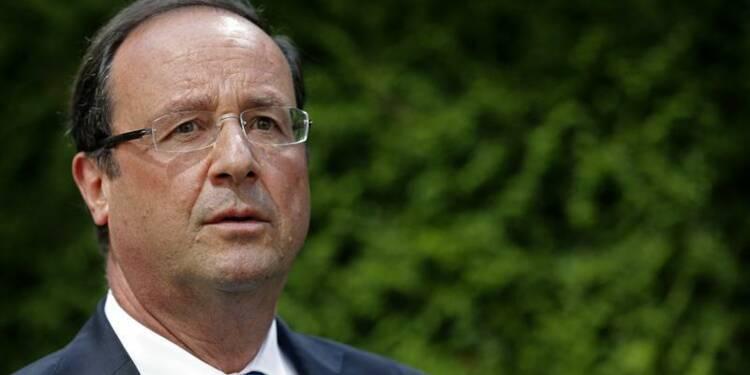François Hollande évoque la Syrie avec des dirigeants occidentaux