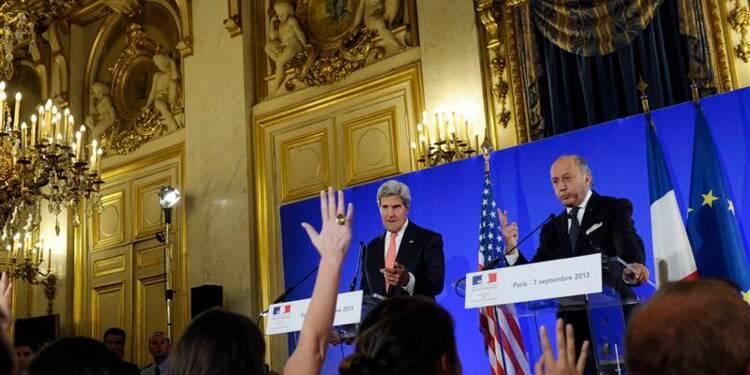 Kerry ne lésine pas sur le français pour convaincre sur la Syrie