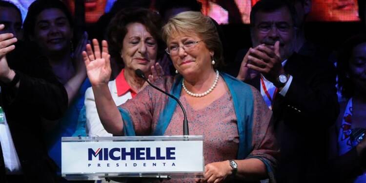 Michelle Bachelet retrouve la présidence au Chili