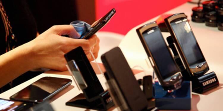 Apple et Samsung au coude à coude sur le marché des smartphones