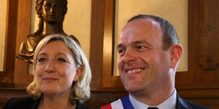 Le Front national sûr de lui à Hénin-Beaumont